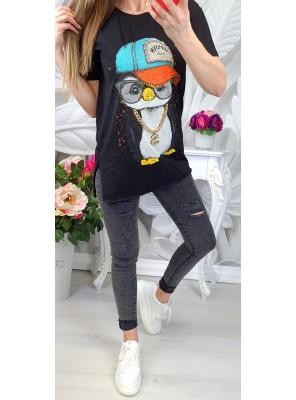 тениска с пингвин