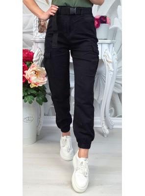 панталон sporty черен