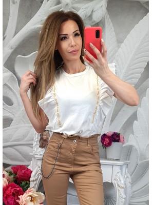 Блуза Лена бяла