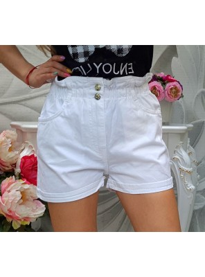 къси панталонки лили бели