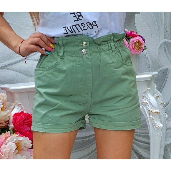 панталонки къси лили зелени