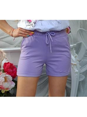 къси панталонки Fresh лилави