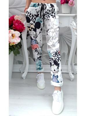 панталон мики бял 3