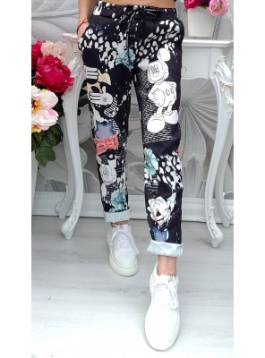 панталон мики черен 3