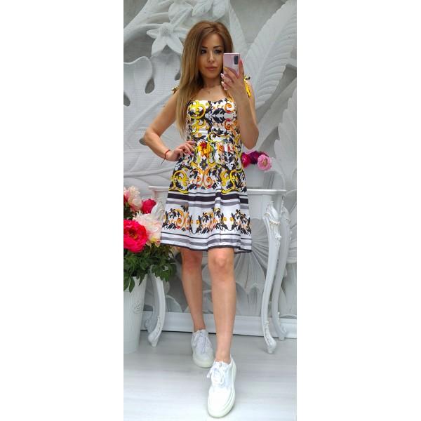 рокля Sunflowers 1