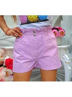 къси панталонки лили лилави
