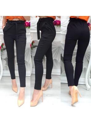 панталон висока талия с колан