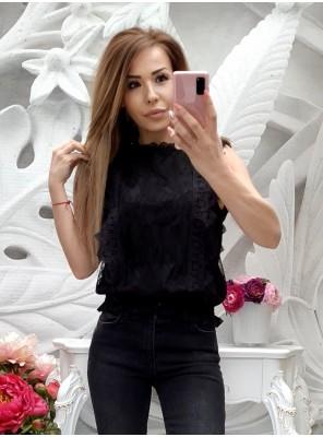 блуза амбра черна