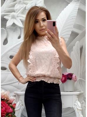 блуза амбра пудра