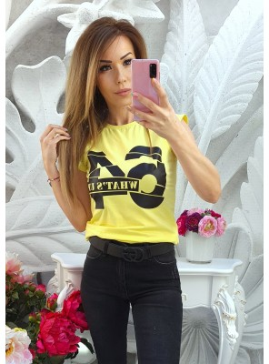 тениска 64 жълта