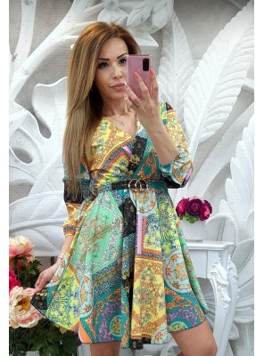 рокля шифон 2