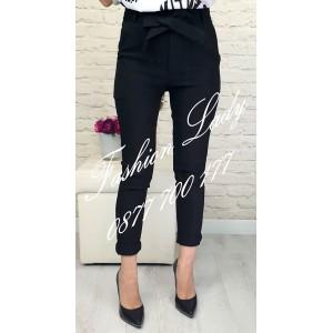 панталон черен с колан