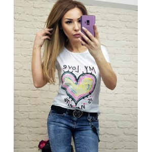 тениска със сърце 5