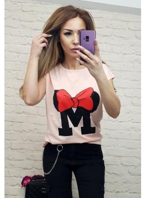 тениска М с панделка 2