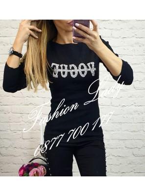 блуза Vogue черна