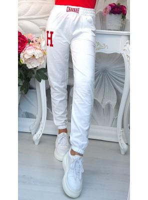 панталон спортен бял