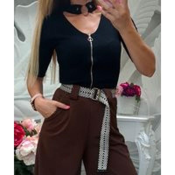 блуза с цип