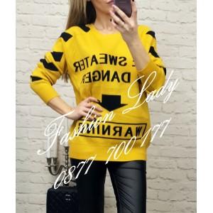 блуза warning 4