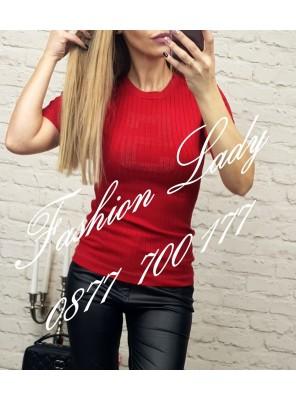 блуза N5 червена