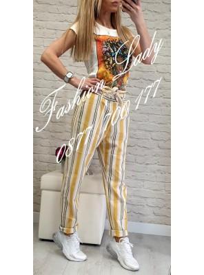 панталон жълто рае 2